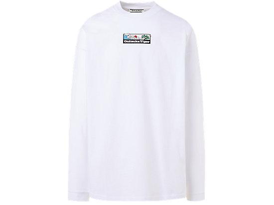 長袖上衣 REAL WHITE