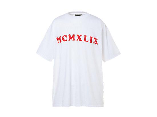 寬版中性短袖上衣 WHITE