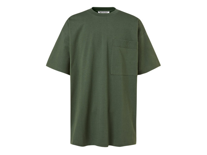 Alternative image view of OVERSIZE TEE, Mantle Green