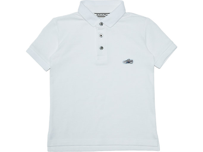 Alternative image view of KIDS POLO SHIRT, Real White