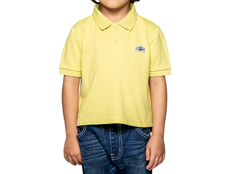 KIDS POLO SHIRT YELLOW 1 FT