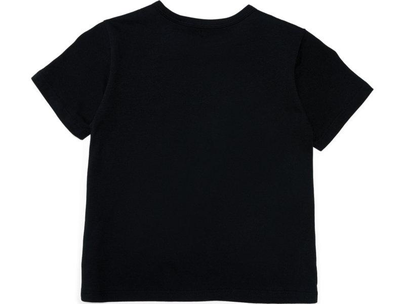 KIDS LOGO TEE PERFORMANCE BLACK/FIERY RED 5 BK
