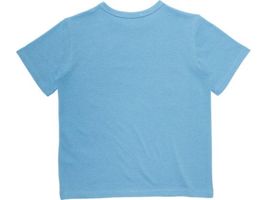KID LOGO TEE PALE BLUE/BLACK