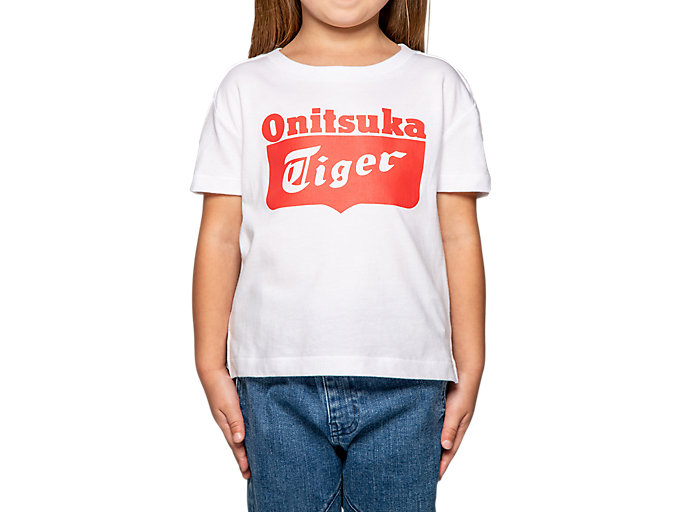 Alternative image view of CAMISETA CON LOGOTIPO DE NIÑO, REAL WHITE