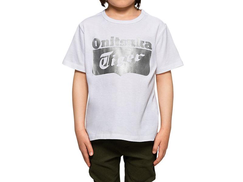 KIDS LOGO TEE WHITE/SILVER 33 Z