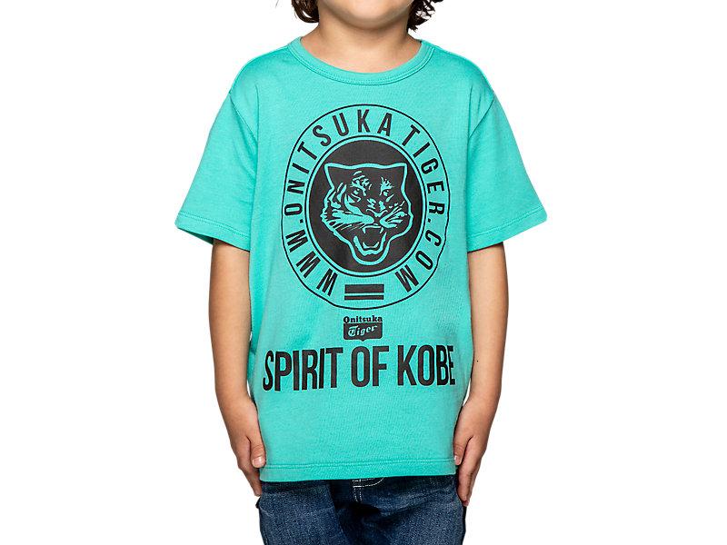 KIDS GRAPHIC TEE LIGHT GREEN 1 FT
