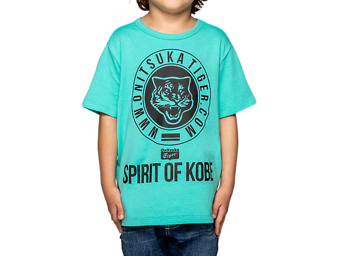 Alternative image view of KIDS GRAPHIC TEE, Lagoon