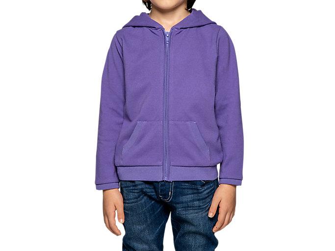 Alternative image view of KIDS HOODIE,  Violet