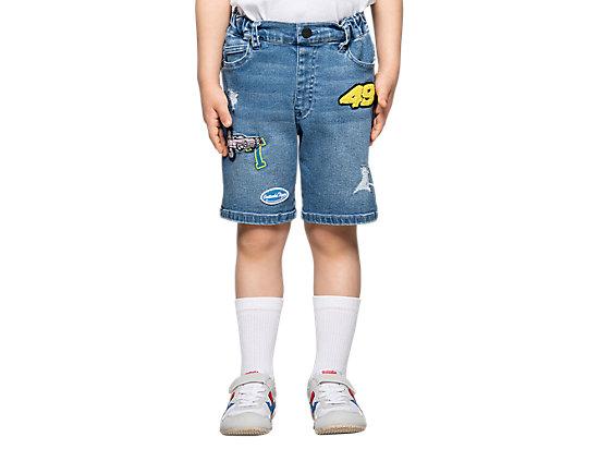 童牛仔短褲 PALE BLUE