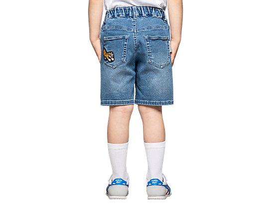 KIDS DENIM SHORT PALE BLUE