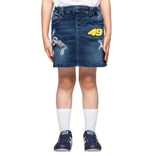 KIDS DENIM SKIRT