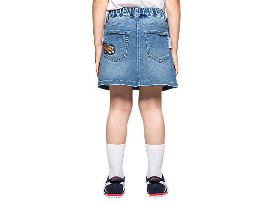 童牛仔短裙 PALE BLUE