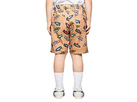 童印花短褲 BEIGE
