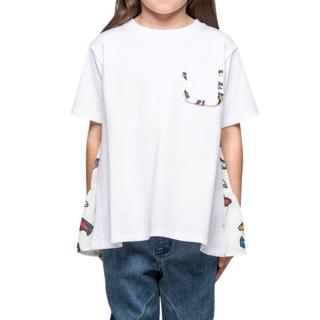 童印花上衣