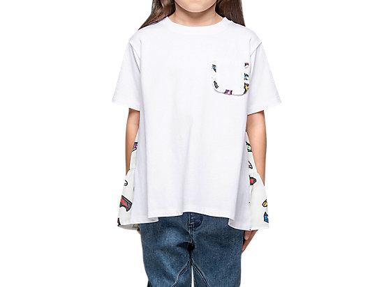 童印花上衣 WHITE
