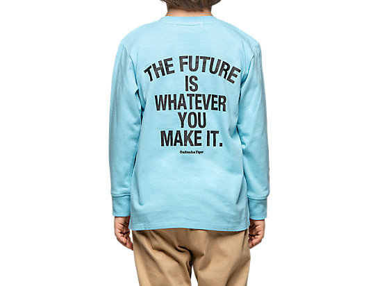 KIDS LS GRAPHIC TEE PALE BLUE