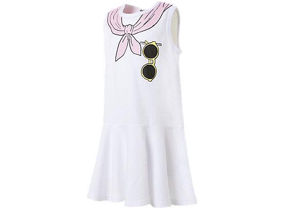 童無袖洋裝 WHITE