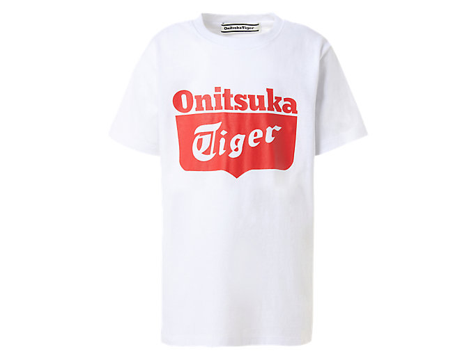 Alternative image view of KINDERSHIRT MET LOGO, Real White/Fiery Red