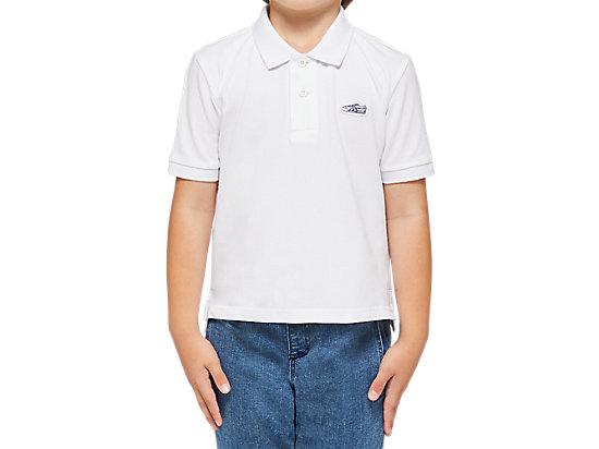 KIDS POLO WHITE