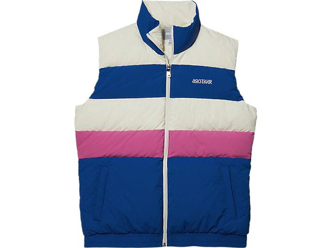 Men's Down Vest | Asics Blue | Outerwear | ASICS