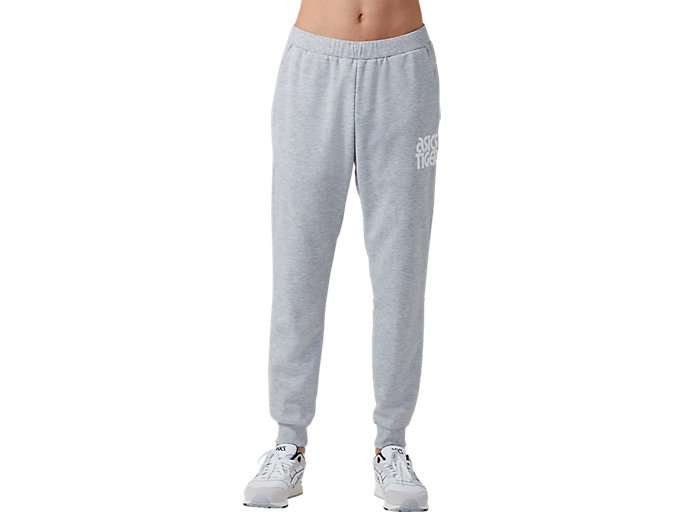 Front Top view of BL Sweat Pants, GLACIER GREY HEATHER