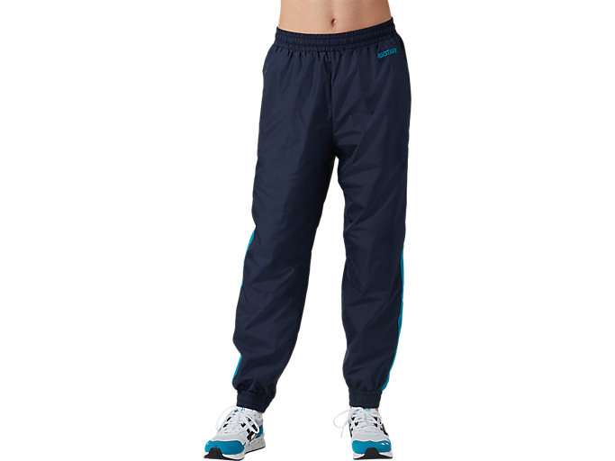 Front Top view of CB Track Pants, MIDNIGHT