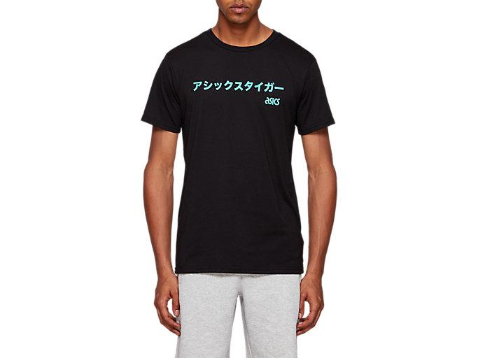 Men's Katakana Tee | Performance Black | Short Sleeve Shirts | ASICS