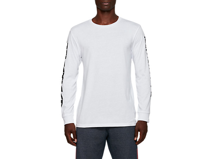 Alternative image view of AT GF LS TEE, BRILLIANT WHITE