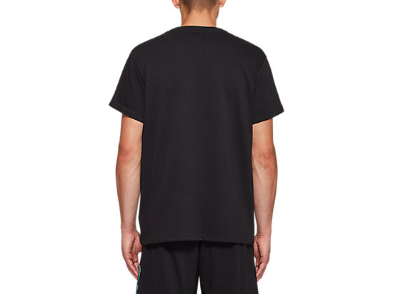 FT BL GRAPHIC SHORT SLEEVE TOP PERFORMANCE BLACK