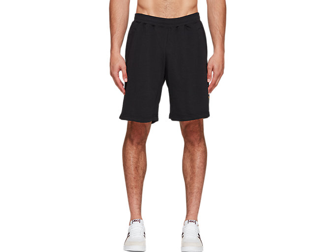 Front Top view of FT BL GRAPHIC SHORTS