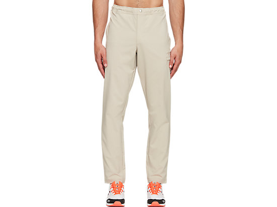 WOVEN WORK PANT PUTTY