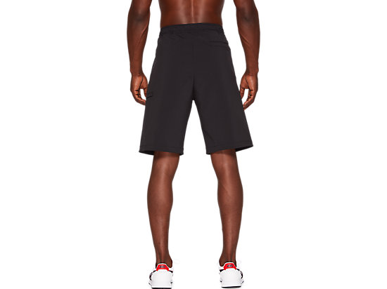 WOVEN WORK SHORTS PERFORMANCE BLACK