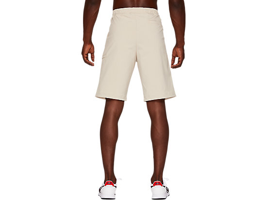 WOVEN WORK SHORTS PUTTY