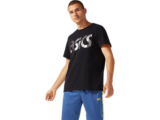 JSY FOIL BL SS TEE PERFORMANCE BLACK/SILVER
