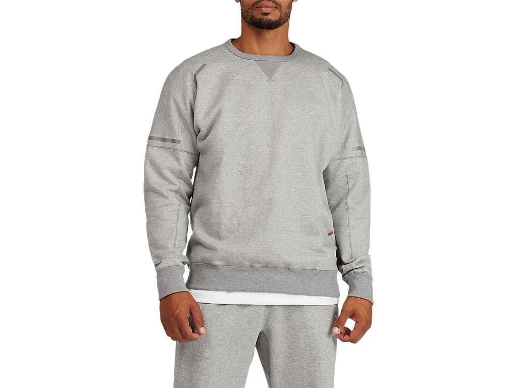 MJ FRENCH TERRY CREW TOP