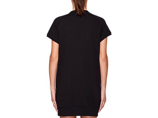 FT OP SHORT SLEEVE DRESS PERFORMANCE BLACK