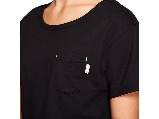 JSY CROP SHORT SLEEVE TEE PERFORMANCE BLACK