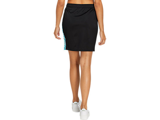 JSY TAPE SKIRT PERFORMANCE BLACK