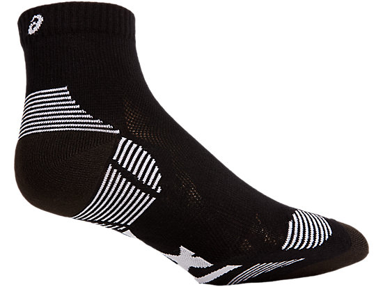 2PPK CUSHIONING SOCK PERFORMANCE BLACK/BRILLIANT WHITE