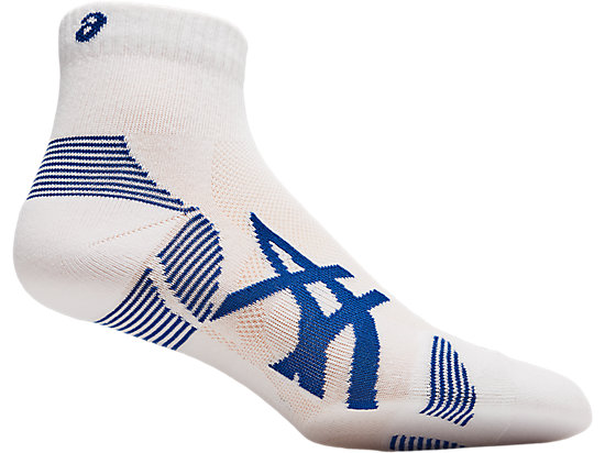 2PPK CUSHIONING SOCK BRILLIANT WHITE/ASICS BLUE