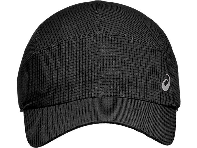 Alternative image view of LIGHTWEIGHT  RUNNING CAP, Performance Black