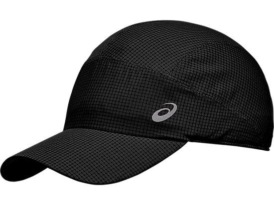 LIGHTWEIGHT RUNNING CAP PERFORMANCE BLACK