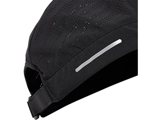 WOVEN CAP PERFORMANCE BLACK
