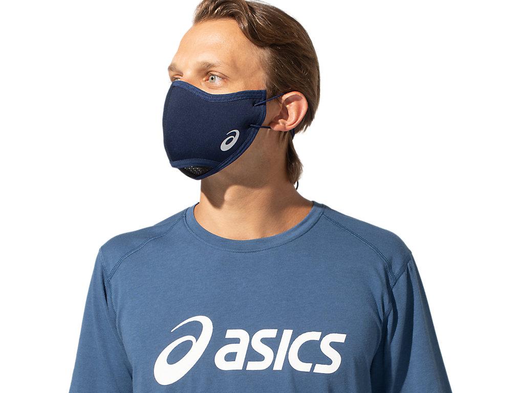 Unisex ASICS RUNNERS FACE COVER | Peacoat | Équipement | ASICS