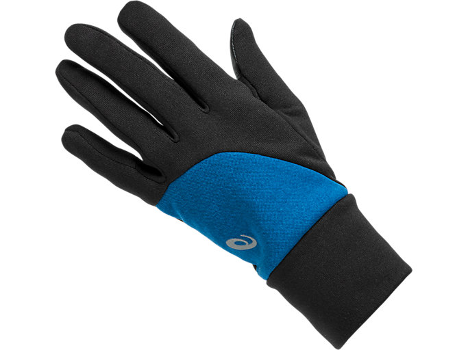 Front Top view of THERMAL GLOVES, DEEP SAPPHIRE