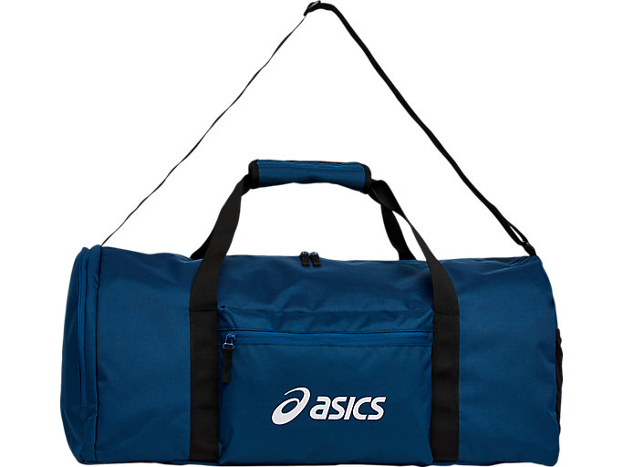 Alternative image view of SPORT LOGO DUFFEL MEDIUM, mako blue