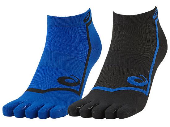 5 TOES SOCK BLUE/BLACK