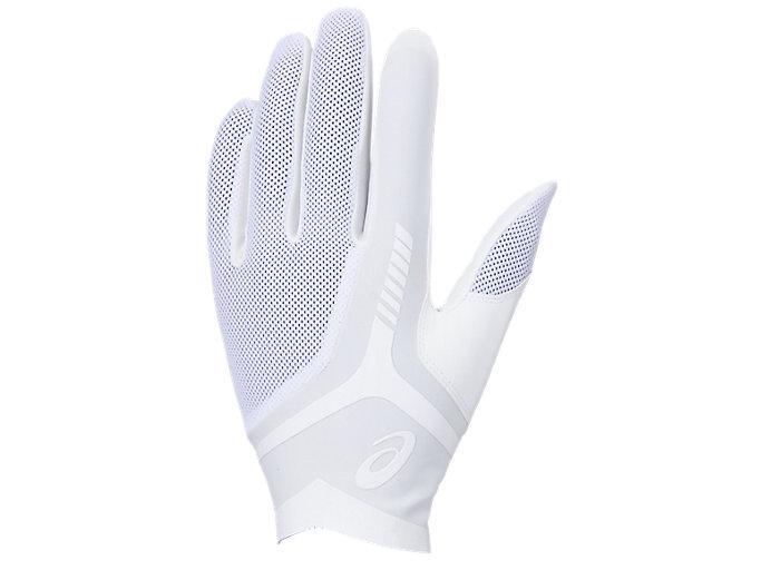 Alternative image view of GOLDSTAGE 守備用手袋, ホワイト×ホワイト