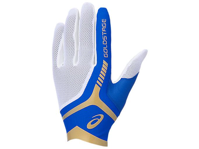 Alternative image view of GOLDSTAGE 守備用手袋, ロイヤル×ホワイト