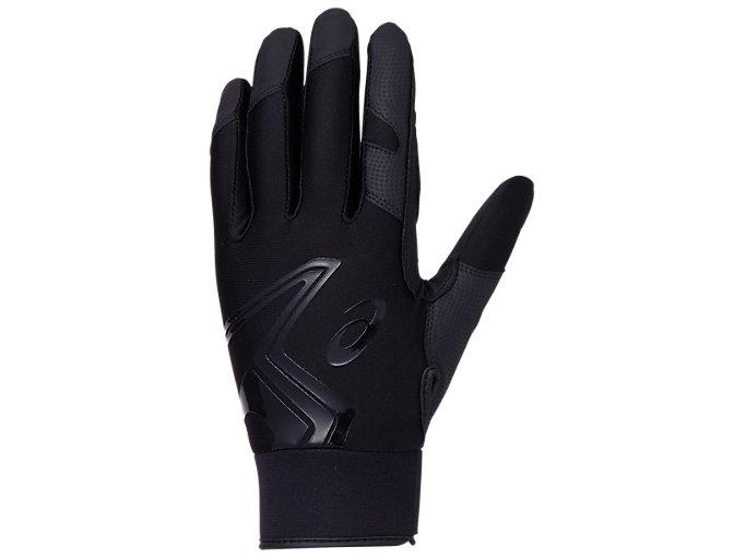Alternative image view of NEOREVIVE 守備用手袋, ブラック×ブラック